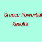 Greece Powerball Results on Sunday 4 April 2021