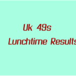 Uk Lunchtime Results Friday 22 October 2021