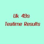 Uk49s Teatime Results: Friday 22 October 2021